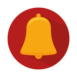 Bell alarm isolated icon. Illustration design Stock Images