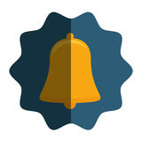 Bell alarm isolated icon. Illustration design Royalty Free Stock Photography
