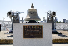 Bell for all Boston ships stock photo