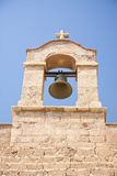 Bell at Almeria castle Royalty Free Stock Images