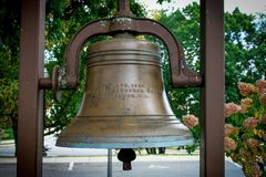 Free Bell At The Church Of The Annunciation, Cranston, RI Stock Photography - 117743602