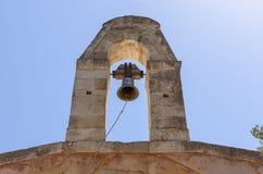 Bell au-dessus du ciel bleu en Grèce Photographie stock
