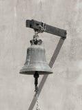 Bell auf der Wand Stockfotografie