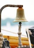 Bell auf Segelnlieferung Lizenzfreies Stockfoto