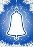 Bell background Royalty Free Stock Image