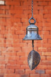 Bell bei Changu Narayan, Nepal Lizenzfreie Stockfotos