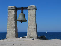 Bell on the Black sea. Royalty Free Stock Photo