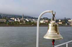 Bell on a Boat Royalty Free Stock Images