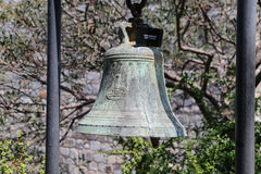 Bell in Bodrum Castle Stock Photography