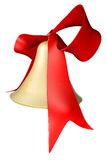 Bell and bow Stock Photography