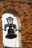 Bell. In a brick belfry Royalty Free Stock Photography