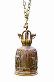 Bell - Buddhism hanging bell Royalty Free Stock Photography