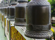 Bell of Buddhism. Bell in temple Stock Photography