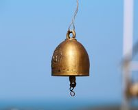 Bell in a Buddhist temple Stock Photos