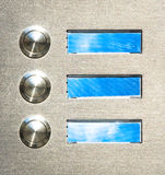 Bell button Stock Images