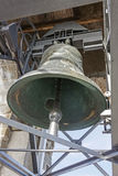 The bell of the Campanone in Bergamo Royalty Free Stock Images