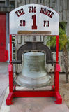 Bell cast in San Francisco in 1885 and presented to San Diego Fire Department Engine Company 1 Stock Images