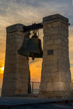 The bell in the Chersonese. Sevastopol Royalty Free Stock Images