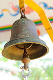 Bell In Chinese Temple Royalty Free Stock Photography