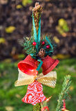 Bell Christmas decoration Royalty Free Stock Images