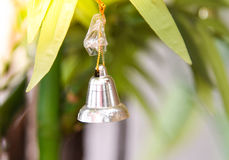 Bell on christmas tree Royalty Free Stock Photos