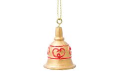 Bell for the christmas tree Royalty Free Stock Photos