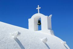 Bell on a church, Oia, Santorini, Greece Stock Images