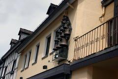 Bell ściana Zdjęcia Royalty Free