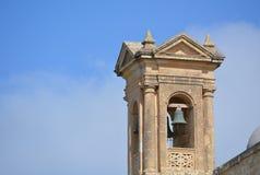 Bell - Citadella in Victoria. Tower with bell in Victoria (Ir-Rabat Għawdex) on Gozo Island Stock Photos