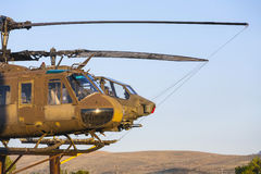Bell and Cobra Helicopters  at Stock Photo