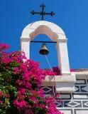 Bell com cruz cristã Imagem de Stock