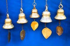 Bell com folha Imagem de Stock Royalty Free