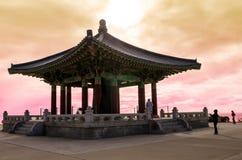 Bell coréenne de l'amitié Photo stock