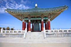 Bell coréenne de pagoda d'amitié Images stock