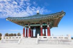 Bell coréenne de pagoda d'amitié Image libre de droits