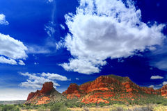Bell and Courthouse Rocks Royalty Free Stock Photography