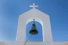 Bell and Cross, Greece Royalty Free Stock Photography