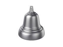 Bell d'isolement sur le fond blanc, rendu 3D Image stock