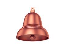 Bell d'isolement sur le fond blanc, rendu 3D Photographie stock libre de droits