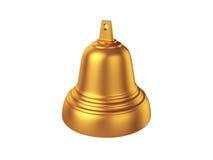 Bell d'isolement sur le fond blanc, rendu 3D Photos libres de droits