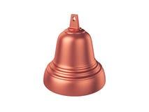 Bell d'isolement sur le fond blanc, rendu 3D Images stock