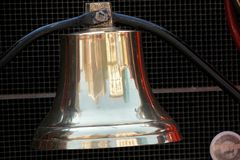 Bell d'ottone Fotografia Stock Libera da Diritti