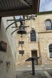 Bell d'ottone ad Adelaide Gaol, Adelaide, Australia Meridionale immagine stock libera da diritti
