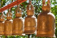 Bell dans le temple Photo stock