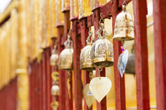 Bell dans le temple Photographie stock libre de droits