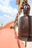 Bell dans le temple de l'Asie Images stock