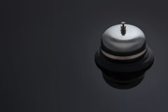 Bell on a dark background Royalty Free Stock Images