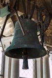 Bell de bronce encima de San Marco& x27; torre de s en Venecia, Italia foto de archivo libre de regalías