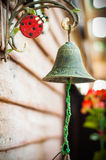 Bell de bronze velha Fotos de Stock Royalty Free