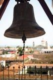 Bell de Iglesia de la Merced en Granada, Nicaragua Fotografía de archivo